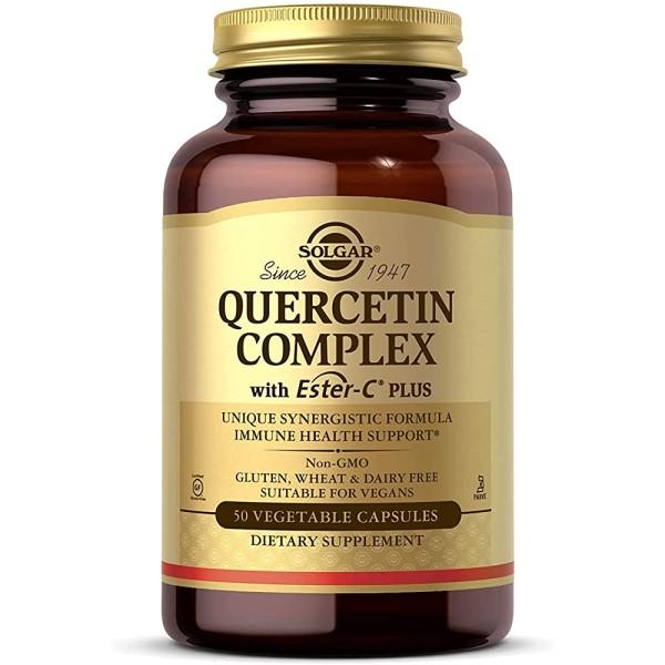Solgar Quercetin Complex with Ester C Plus Vegetable Capsules