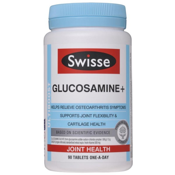 Swisse Glucosamine+ 1500mg 90 Tablets
