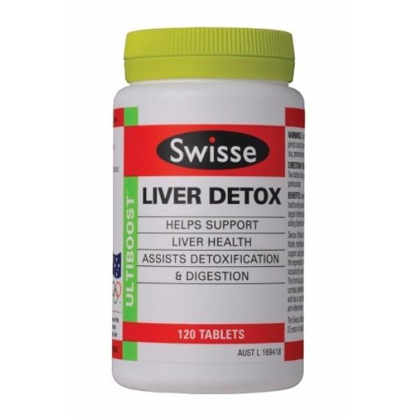 Swisse Liver Detox 120 Tablets