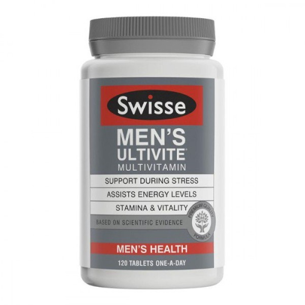 Swisse Men's Ultivite 120 Tablets