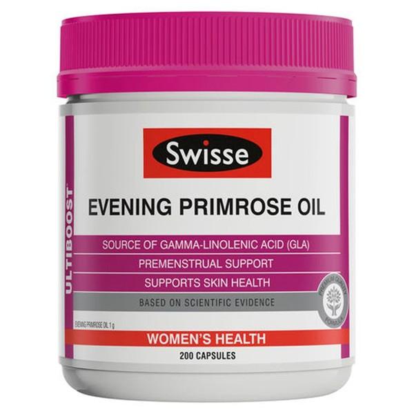 Swisse Ultiboost Evening Primrose Oil EPO 200 Capsules