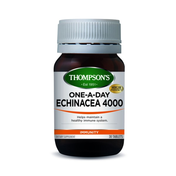Thompson's Echinacea 4000mg One A Day 30 Tablets
