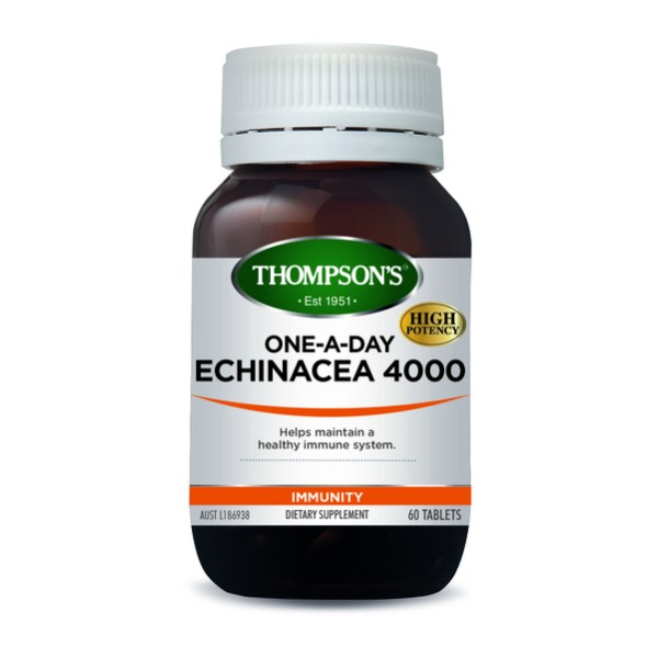 Thompson's Echinacea 4000mg One A Day 60 Tablets