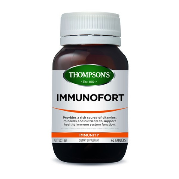 Thompson's Immunofort One A Day 60 Tablets