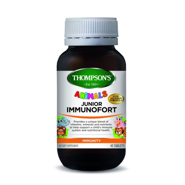 Thompson's Junior Immunofort Animals 45 Tablets