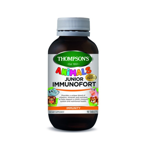 Thompson's Junior Immunofort Animals 90 Tablets
