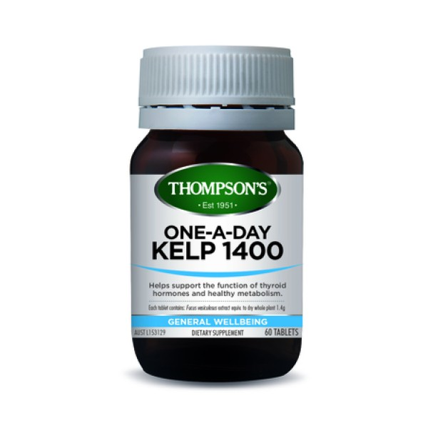 Thompson's Kelp 1400mg One A Day 60 Tablets