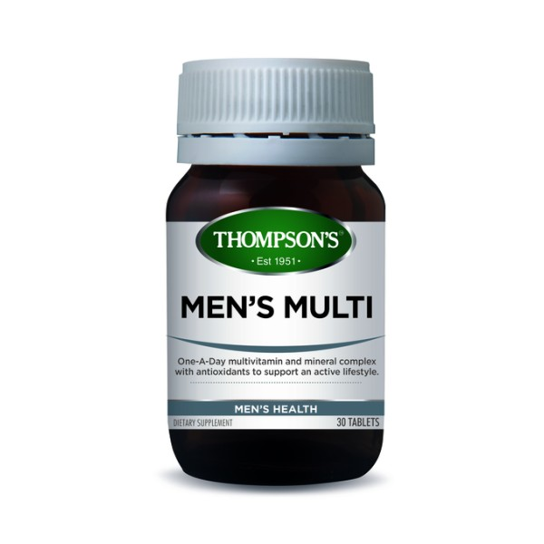 Thompson's Men's Multi One A Day 30 Tablets