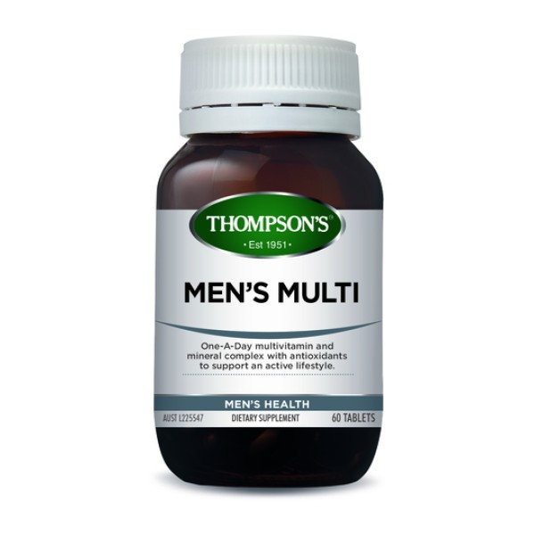 Thompson's Men's Multi One A Day 60 Tablets
