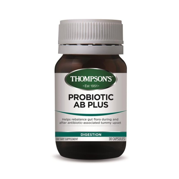 Thompson's Probiotic AB Plus 30 Capsules