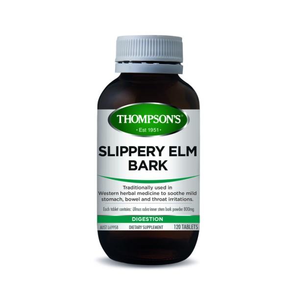 Thompson's Slippery Elm Bark Chewable 120 Tablets