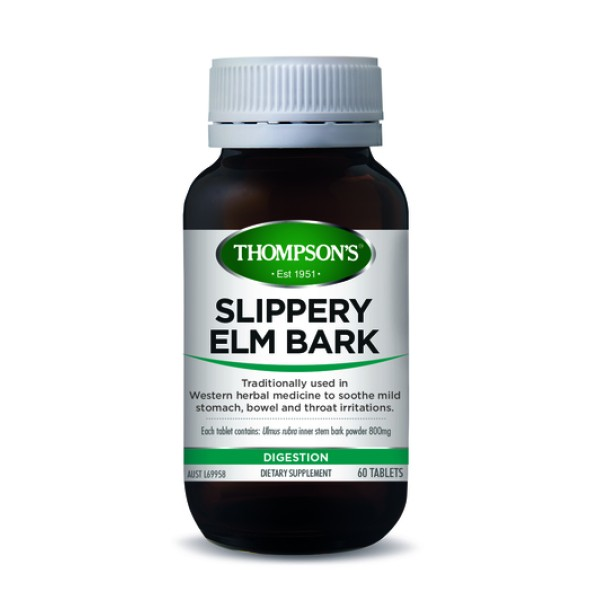 Thompson's Slippery Elm Bark Chewable 60 Tablets