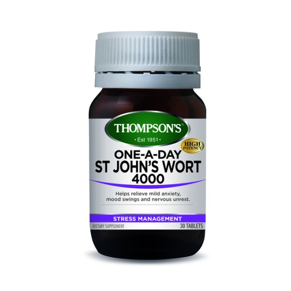 Thompson's St John's Wort 4000mg One A Day 30 Tablets