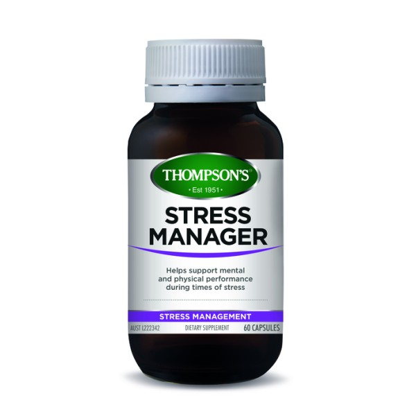 Thompson's Stress Manager 60 Capsules