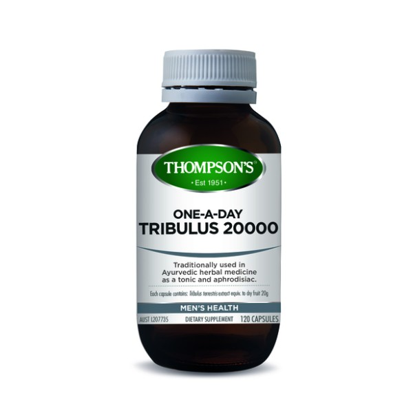 Thompson's Tribulus 20000mg One A Day 120 Capsules