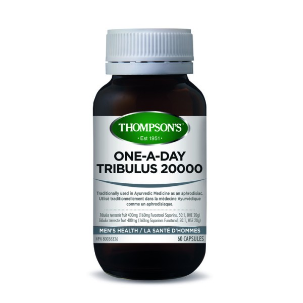 Thompson's Tribulus 20000mg One A Day 60 Capsules