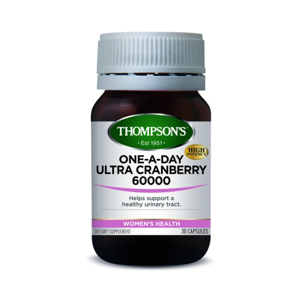 Thompson's Ultra Cranberry One A Day 60000mg 30 Capsules