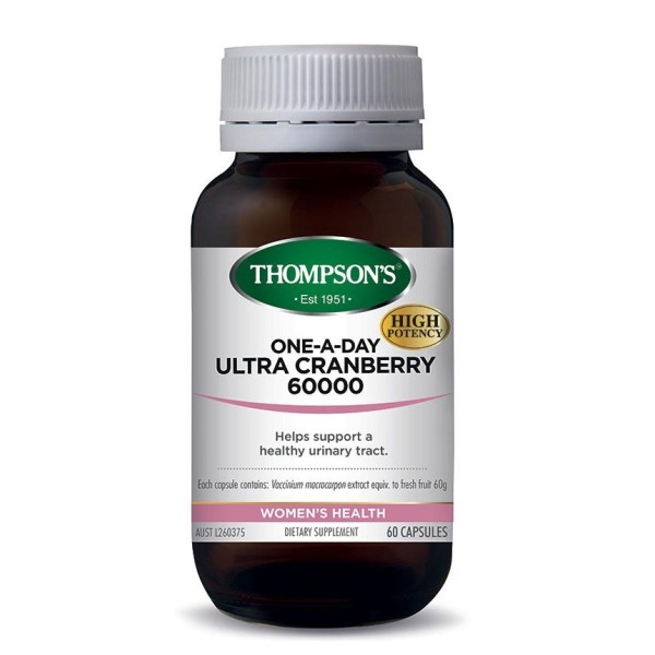 Thompson's Ultra Cranberry One A Day 60000mg 60 Capsules