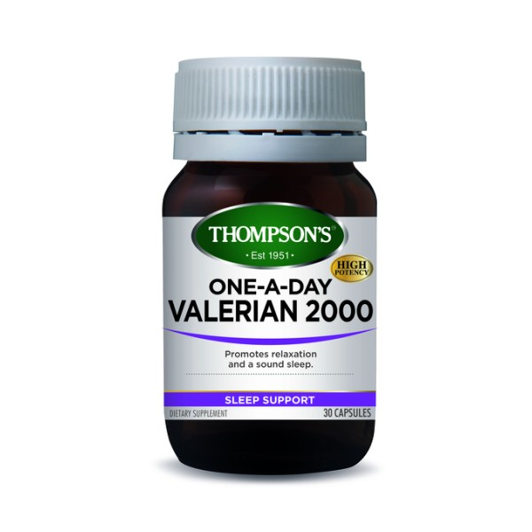 Thompson's Valerian 2000mg One A Day 30 Capsules