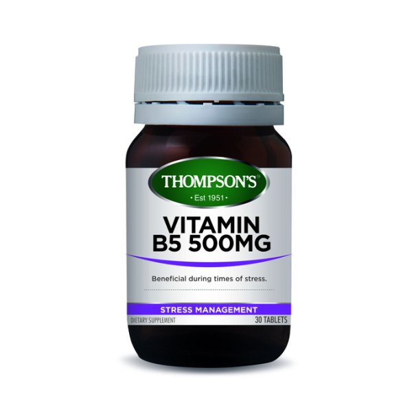 Thompson's Vitamin B5 500mg 30 Tablets