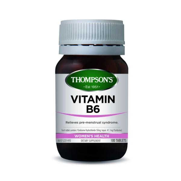 Thompson's Vitamin B6 100 Tablets