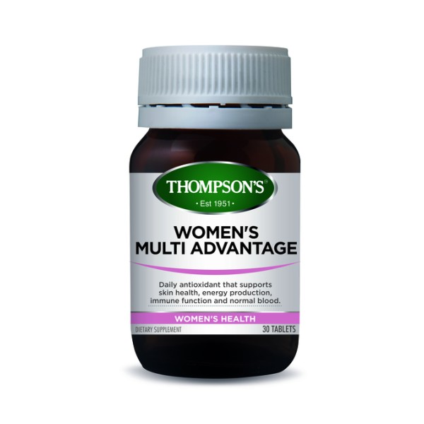 Thompson's Women's Multi Advantage 30 Tablets