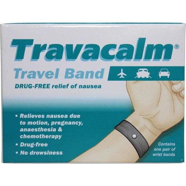 Travacalm Travel Band One Pair Of Wrist Bands