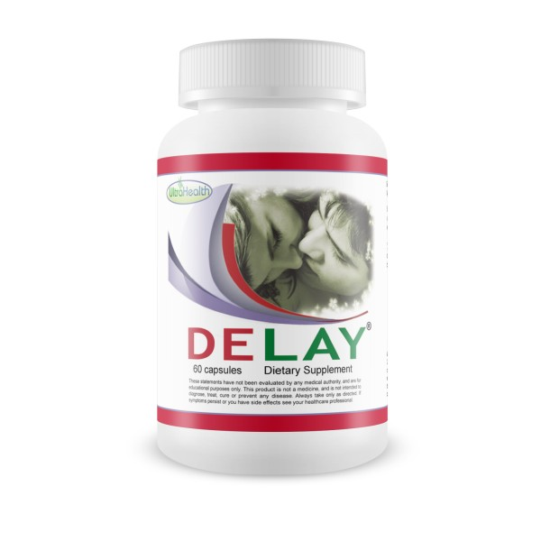 Ultra Health Delay Last Longer 60 Capsules