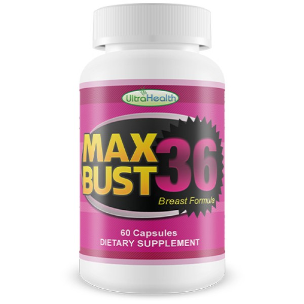 Ultra Health MaxBust 36 Breast Formula 60 Capsules