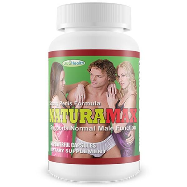 Ultra Health Naturamax Strong Penis Formula 60 Capsules