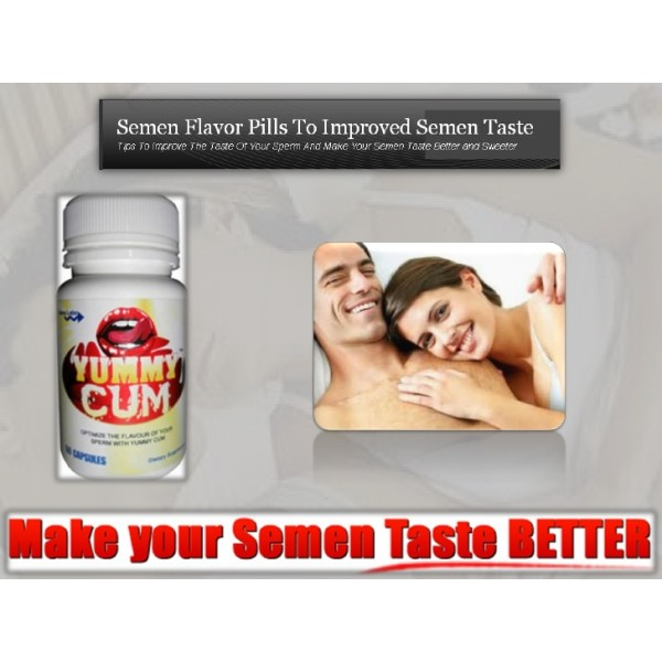 Ultra Health Yummy Cum Semen Taste Enhancer 60 Capsules