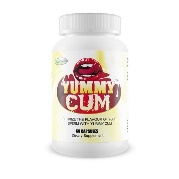 Ultra Health Yummy Cum Semen Taste Enhancer 60 Capsules