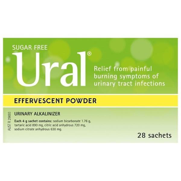 Ural Urinary Alkalinizer 28 Sachets