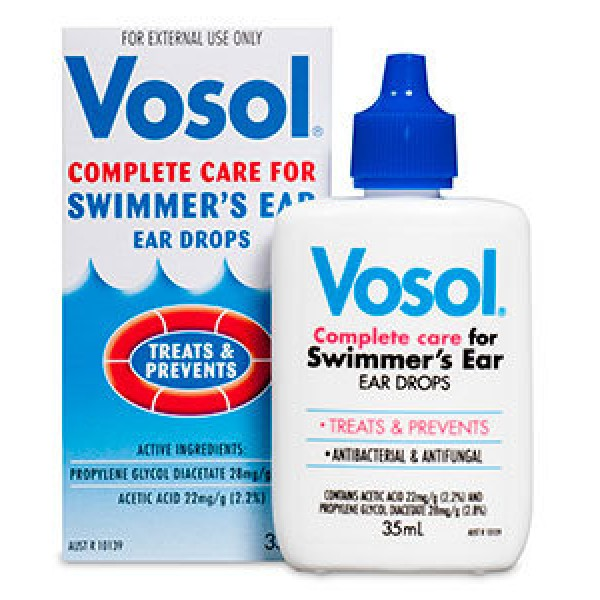 Vosol Swimmer's Ear Ear Drops 35ml