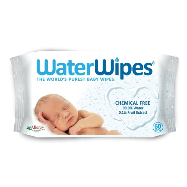 Baby WaterWipes 60 Baby Wipes