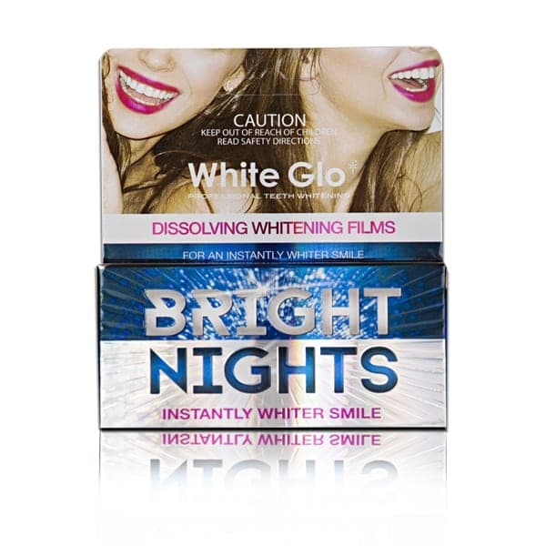 White Glo Bright Nights Whitening 6 Strips
