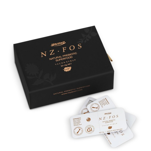NZFOS+ Prebiotic Yacon Concentrate Snap Pak 6g 30 per Pack