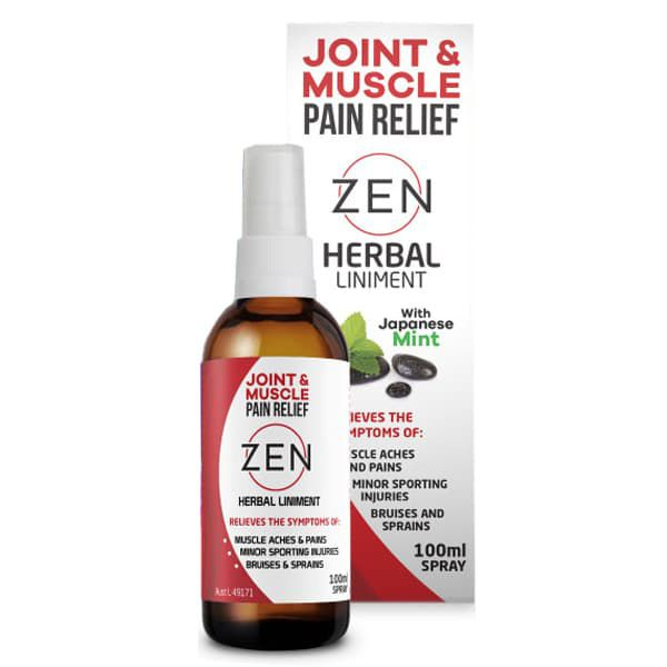 Zen Joint Muscle Herbal Liniment Spray 100ml